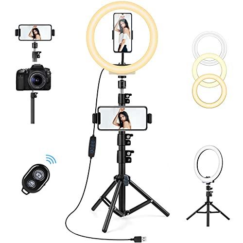 lampada fotografica AGPTEK Luce Anello LED 10