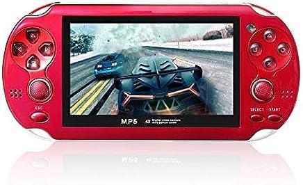 """4.3"""" Pantalla de Juego de Consola de 8 GB de Memoria Juegos Gratis Juego MP5 con la cámara"""
