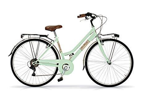 Via Veneto by Airbici 28' Retro Vintage Aluminio Bici Citybike Bicicleta Mujer