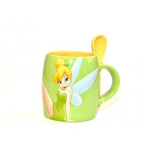 Disneyland Paris Taza, cuchara y taza de Campana Tinker