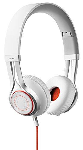 Jabra Revo On-Ear-Kopfhörer (3,5mm-Klinkenanschluss, Freisprechfunktion) weiß