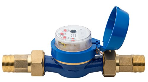 Hunter HC100FLOW Hydrawise 1' Flow Meter for Touch Screen Smart Wifi Enabled Sprinkler Controller HC-100-FLOW