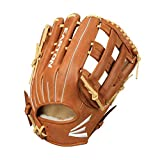 EASTON FLAGSHIP Baseball Glove | 2020 | Right-Hand Throw | 12.75' | Outfield Glove | H Web | Diamond Pro Steer Leather | Oiled Cowhide Palm + Finger Lining Max Comfort + Feel | FS1275