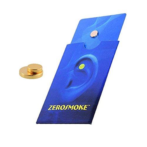 Magnete für das Ohr - Aurikulotherapie - natürliche Anti-Tabak-Methode