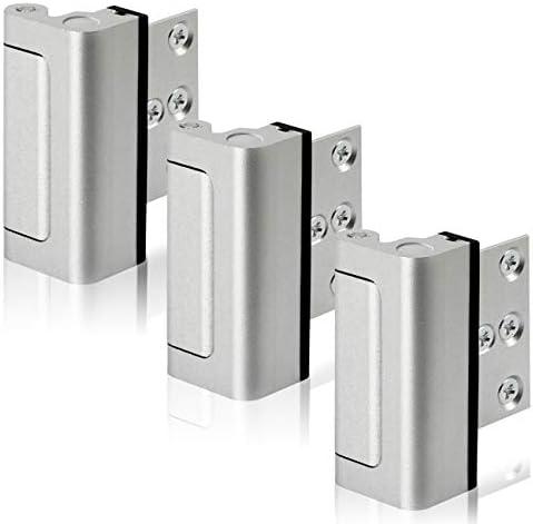Lifechaser 3PACK Home Security Door Reinforcement Lock Childproof Door Lock Defender Add High product image