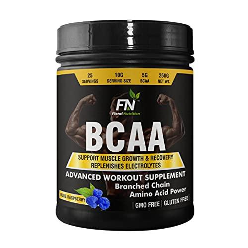 Floral Nutrition BCAA Protein Supplement With L-Leucine, L-Isoleucine, L-Valine_250 gm