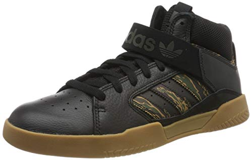 adidas Vrx Mid, Zapatillas de Skateboard Hombre, Negro (Core Black/Night Cargo/Raw Desert Core Black/Night Cargo/Raw Desert), 49 1/3 EU