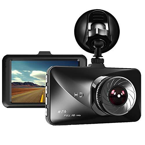 "Dash Cam,Dyzeryk Car Dashboard Camera 3.0"" Screen,Full HD 1080P,170 Degree Wide Angle,Vehicle On-Dash Video Recorder Camcorder,Car Camera"
