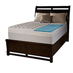 """cheap Simmons Beauty Rest Conforpedic Loft by Beauty Rest 2 Memory Foam Supreme Gel and 1.5"""" …"""