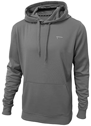TREN Herren Thermal Performance Fleece Hoody Kapuzensweater Coolgrau 060 - M