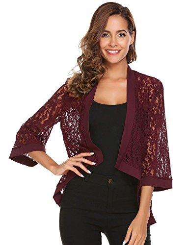 Burgundy Dress Jacket