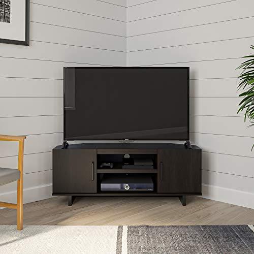 """Ameriwood Home Southlander Corner 50"""", Espresso TV Stand"""