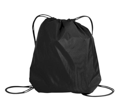 Basic Drawstring Backpack - Black BG85