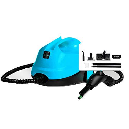 Limpiadores De Vapor MultifuncióN 2000W/2L Para El Hogar - Limpiador De Alta PresióN Para AutomóViles/Interiores, Equipos De EsterilizacióN Y DesinfeccióN,12 Accesorios,Blue