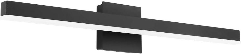 Aipsun 27.6 inch Oakland Mall Modern Black overseas Va LED Vanity Bathroom Light