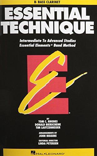 Essential Technique - BB Bass Clarinet Intermediate to Advanced Studies (Book 3 Level)