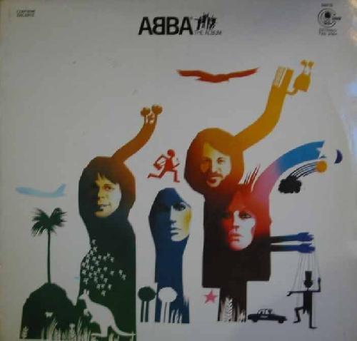 Antiguo vinilo - Old Vinyl .- ABBA; THE ALBUM.