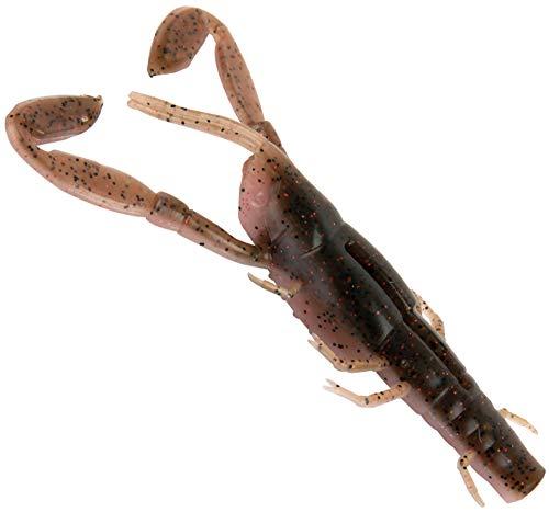 Fox Rage Critters - Gummikrebs zum Spinnangeln auf Barsche & Zander, Gummiköder zum Barschangeln & Zanderangeln, Barschköder, Länge:9cm, Farbe:natural