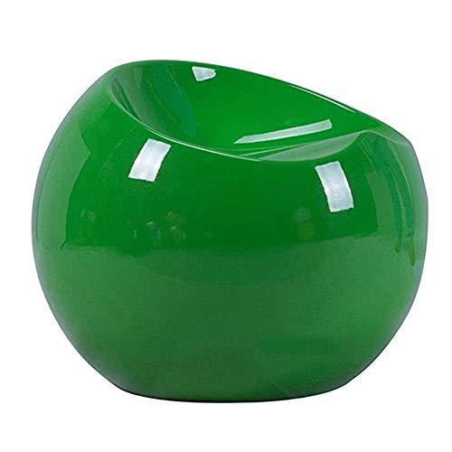 JBFZDS Hocker, Nordic Kreativer Kleiner Ballhocker Personalisierte Schuhbank Mit Farbwechsel Apple Hocker Wohnzimmer Schlafzimmer Multifunktionaler Aufbewahrungshocker (Color : Green)