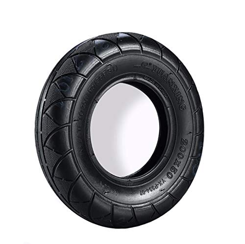 HUAQINEI Neumático Interior y Exterior para Scooter eléctrico 10 × 2.5 Neumático Antideslizante Duradero, Engrosado, a Prueba de explosiones, Neumáticos inflables universales Negros
