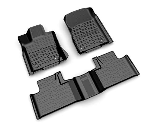 Mopar 2016-2019 Jeep Grand Cherokee Rubber Slush Mats Floor Mats Front & Rear