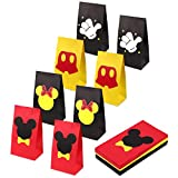 Aresmer Mouse Party Bags Party Favor Bags for Kids Mouse Themed Party, Pack of 24