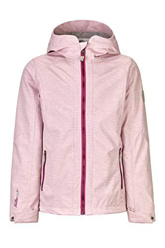 Killtec Mädchen Tynga Softshelljacke Mit Kapuze, pink, 140