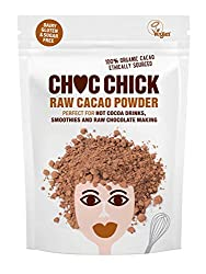 The loveliest superfood on the planet 100% pure cacao powder - high in magnesium, iron and potassium Perfect whizzed in smoothies & superfood shakes Delicious stirred in yogurt and porridge Fabulous for baking, raw chocolate making and drinking
