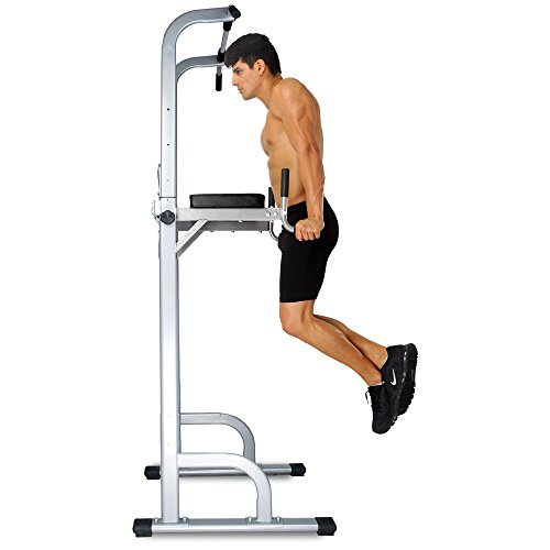 Ainfox Power Tower Pull Up Bar Tower Dip Fitness Stand $113.89