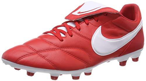 Nike The Premier II FG, Botas de fútbol Hombre, Rojo (Rojo Universitario/Blanco 616), 38.5 EU