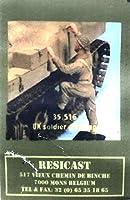■ レジキャスト 【希少/受注生産品】 1/35 イギリス連邦軍 戦車跨乗歩兵 35.516