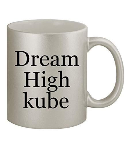 Dream High kube - 11oz Silver Coffee Mug Cup, Silver