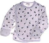 Wickelhemdchen Wickelshirt Baby Hemdchen 50 56 62 68 Shirt Flügelshirt Flügel (50)