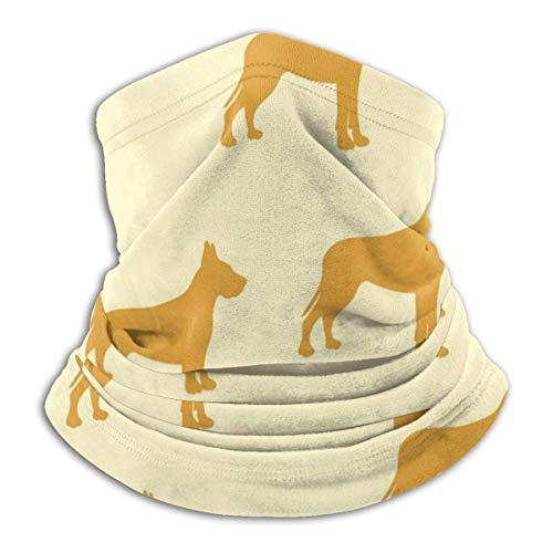 Niet bruikbare achtergrond kinderen hond Duitse hond hoofdband gezichtsmasker bandana hoofdwikkel sjaal halswarmer hoofddeksel bivakmuts voor sport