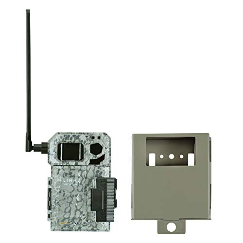 Spypoint Link Micro 4G Cellular Trail Camera with Steel Security Box (AT&T (USA Nationwide))