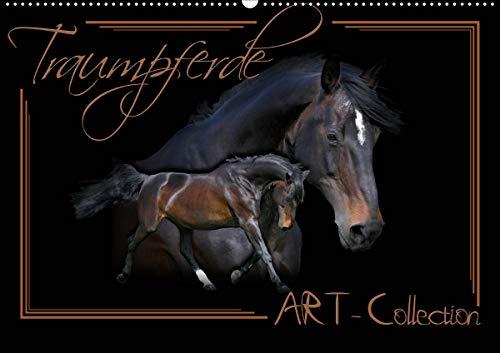 Traumpferde-ART-Collection (Wandkalender 2021 DIN A2 quer)