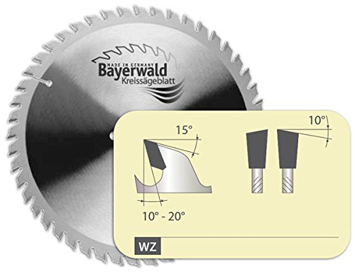 Bayerwald - HM Handkreissägeblatt für Holz - Ø 210 mm x 2,8 mm x 30 mm | Wechselzahn (48 Zähne / sehr fein) | Nebenlöcher: 2/7/42