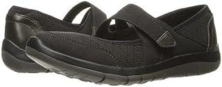 (アラヴォン)Aravon レディースフラットシューズ・スリッポン・靴 Wembly Mary Jane Black 10 27cm N (AA) [並行輸入品]
