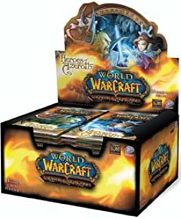 Heroes of Azeroth World of Warcraft CCG 24 Pack Booster Box