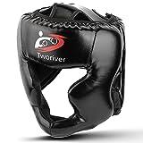 Outdors Protection de la tête de boxe - En cuir synthétique - Pour boxe, MMA, UFC, Muay Thai, Kickboxing, arts martiaux...
