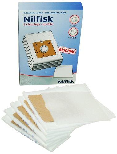 Nilfisk 78602600 - Bolsas de papel para aspiradora