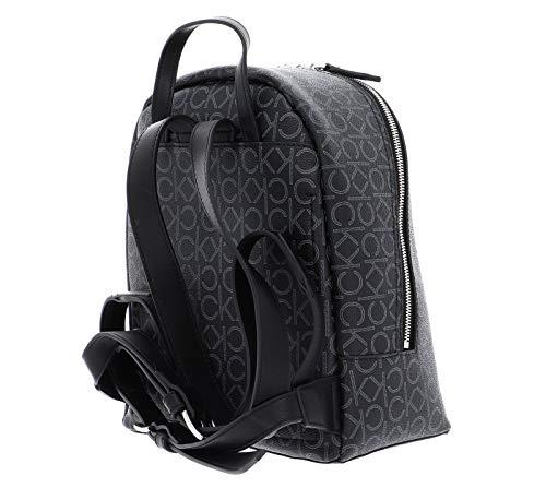 41TJT5hau0L - Calvin Klein Small Backpack CK Mono Small Backpack Black Mix