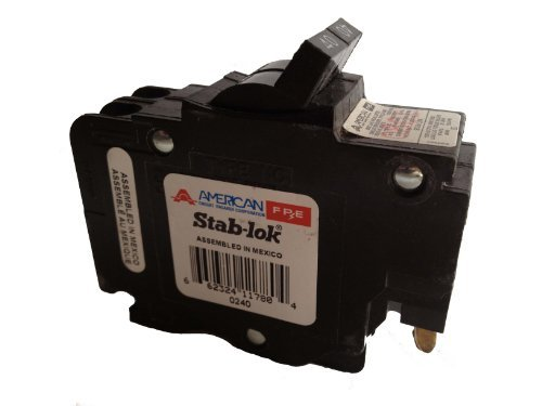 FEDERAL PACIFIC NC240 Circuit Breaker 40AMP 2POLE 120/240VAC Type NC