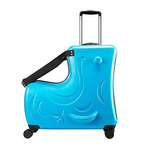 Koffer XYDBB Mode Leuke pony Cartoon kinderen Rolling Spinner Koffer Wielen Multifunctionele reistas voor kinderen 20