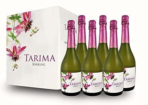 BODEGAS Y VIÑEDOS VOLVER | Vino Blanco Espumoso | Pack de 6 Botellas | Tarima Sparkling | Variedad de Moscatel | D.O. de Alicante | Cosecha de 2020 | (6 Botellas x 750 ml) |
