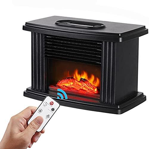 Chimenea eléctrica bajo consumo pequeña, mini calefactor...