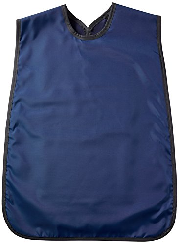 Flow Dental 75061-22 Adult Panoramic Apron, Lead Rubber, 24' x 27' Size, Navy Blue