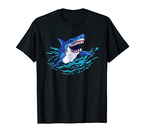 Hai-Maul I Meeresräuber I Cooles Hai T-Shirt