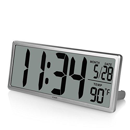 iCKER Jumbo Alarm Clock
