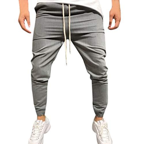 MINIKIMI joggingbroek heren joggingpak jogger cargo mannen trainingspak slim fit drawstring vrijetijdsbroek streetwear broek cargobroek